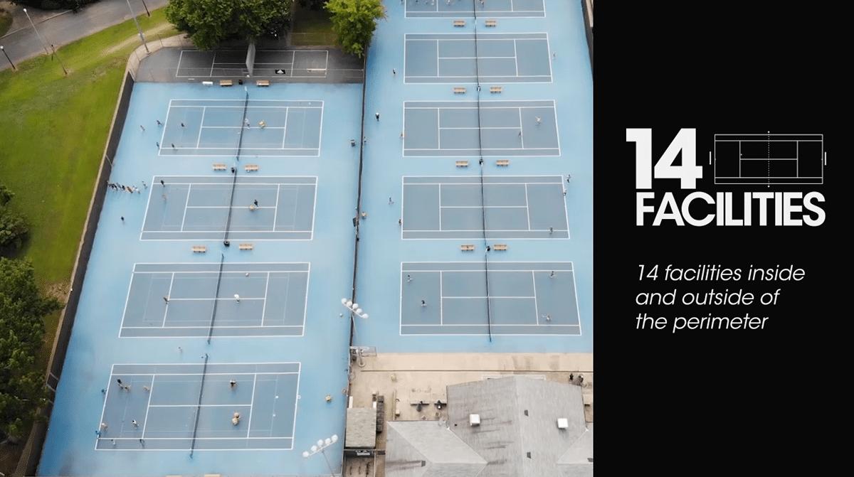14 Facilities UTA (Universal Tennis Academy)