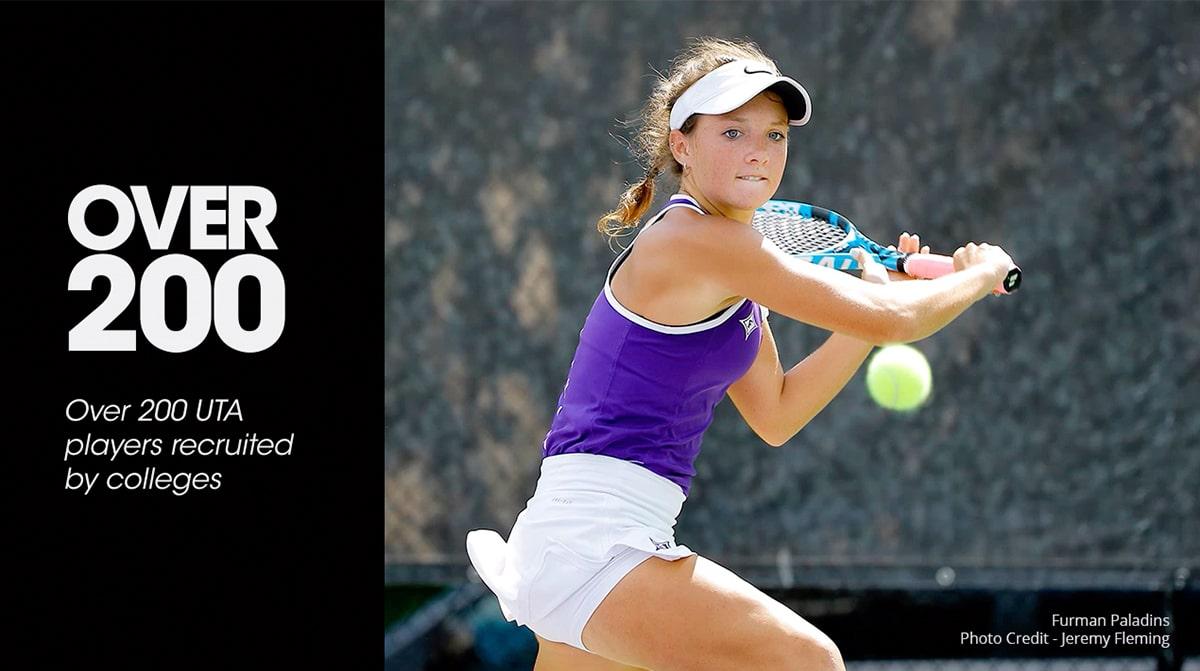200 Players Recruited UTA (Universal Tennis Academy)
