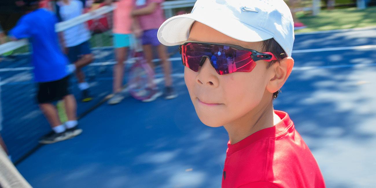 UTA (Universal Tennis Academy) Chastain Park Junior Boy W/ Sunglasses